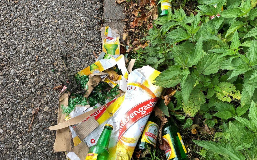 Abfall, überall Abfall